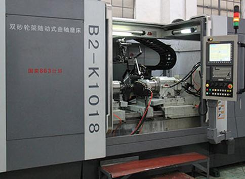 数控双砂轮曲轴随动磨床B2-K1018